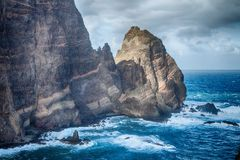 Ponta de Sao Lourenco - Madeira, Portugal. Royalty Free Stock Photo