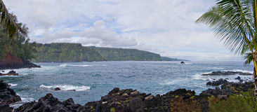 East Coast of Maui, HI Stock Photo
