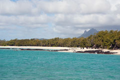 The East Coast of Mauritius Royalty Free Stock Images