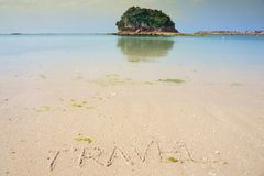 Island life on Okinawa 13. The East coast of Okinawa Japan Royalty Free Stock Photos