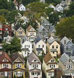 East coast suburban houses Royalty Free Stock Photos