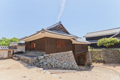 East Connecting Turret and Inui Gate of Matsuyama castle, Japan Royalty Free Stock Image