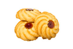 East cookies with jam Royalty Free Stock Image