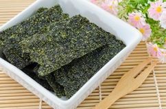 East cooking - Crispy seaweed. Royalty Free Stock Photography
