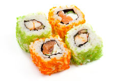 East cooking - rolls California Royalty Free Stock Photo