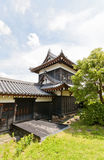 East Corner Turret of Yamato Koriyama castle, Japan Royalty Free Stock Images