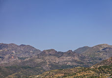 East Crete mountains Royalty Free Stock Image