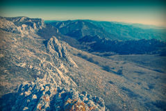 East Crimea mountains Royalty Free Stock Photography