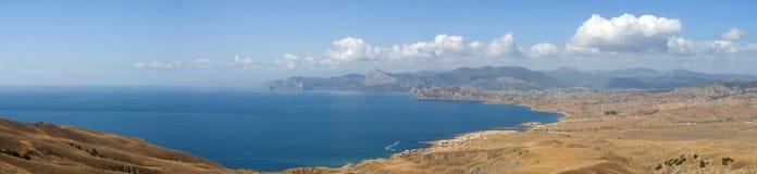 East Crimean coast line. Pannorama Stock Photo