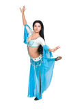 East dancer in eastern  costume. Stock Photography