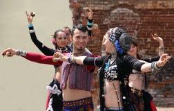 East dances. Dansing groupJan SuryaKiev.Ukraine Stock Photos