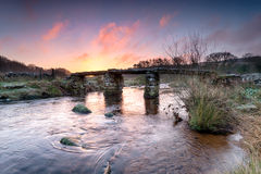 The East Dart River Royalty Free Stock Photography