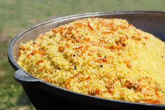 East dish. Pilau. Stock Photography