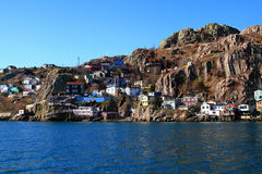 East end of St. John?s where the town reached Signal Hill Royalty Free Stock Images