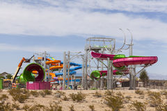 East end of Wet n Wild, in Las Vegas, NV on April 24, 2013 Stock Images