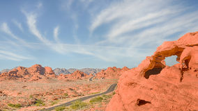 East Entrance, Valley of Fire State Park, NV Royalty Free Stock Photo