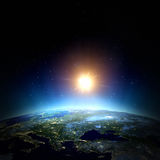 East Europe. Elements of this image furnished by NASA Royalty Free Stock Images
