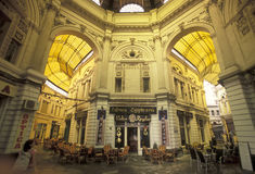EAST EUROPE ROMANIA BUCHAREST CITY. The covered Passage of Pasajul Villacros in the city of Bucharest in Romania in east europe Royalty Free Stock Photography