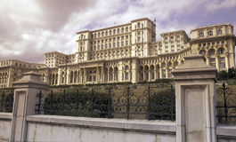 EAST EUROPE ROMANIA BUCHAREST PARLIAMENT PALACE Royalty Free Stock Photography