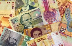 East European money Stock Image