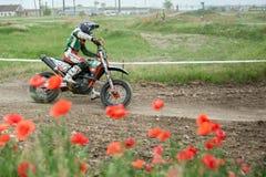 East European Supermoto Championship 2013 Royalty Free Stock Photo