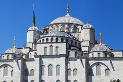 East facade of the Blue Mosque Royalty Free Stock Photography