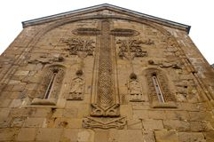 East facade of Church of the Assumption Stock Images