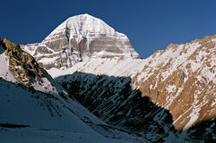 East Face of sacred Mount Kailash Stock Photos