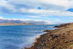 East Fjords Iceland Stock Photo