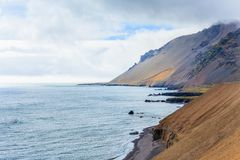 East Fjords Iceland Stock Images