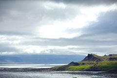 East Fjords Iceland Stock Photos