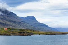 East Fjords Iceland Stock Photography
