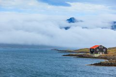 East Fjords Iceland Royalty Free Stock Photo
