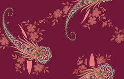 East flower pattern Stock Photography