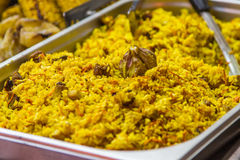 East food plov Royalty Free Stock Image