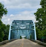 East Fork White River Bridge Royalty Free Stock Images