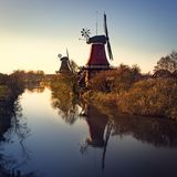 East Frisian mills. A beauty East Frisian mills Stock Image