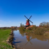 East Frisian mills. A beauty East Frisian mills Royalty Free Stock Images
