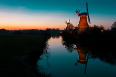 East Frisian mills. A beauty East Frisian mills Stock Photography