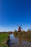 East Frisian mills. A beauty East Frisian mills Royalty Free Stock Photos