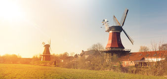 East Frisian mills. A beauty East Frisian mills Stock Images