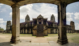 East Gallery, Angkor Wat Temple, Cambodia Royalty Free Stock Photo