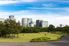 East Gardens of the Imperial Palace in Tokyo, Japan Stock Photos
