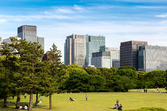 East Gardens of the Imperial Palace in Tokyo, Japan Royalty Free Stock Photo