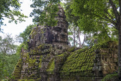 East gate Angkor Thom, Cambodia Royalty Free Stock Images
