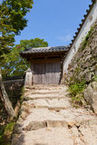 East Gate of Bitchu Matsuyama castle, Takahashi, Japan Stock Photo