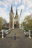 East Gate In Delft Royalty Free Stock Photo
