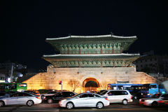 East gate of Seoul Stock Images