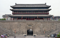 The East Gate of Xi'an City Wall Royalty Free Stock Photo