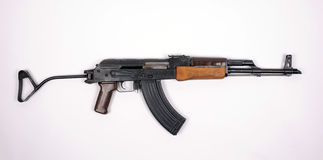 East German automatic rifle KALASHNIKOV Royalty Free Stock Images